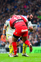 Davit ZIRAKASHVILI / Mathieu BASTAREAUD - 02.05.2015 - Clermont / Toulon - Finale European Champions Cup -Twickenham<br />