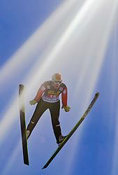 06.01.2011, Paul Ausserleitner Schanze, Bischofshofen, AUT, Vierschanzentournee, Bischofshofen, 1. Wertungsdurchgang, im Bild // Stefan Thurnbichler (AUT)  // during the 59th Four Hills Tournament First Jump in Bischofshofen, EXPA Pictures © 2011, PhotoCredit: EXPA/ J. Feichter