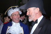 Marshall Bayley and Ian Flett, Goodwood Revival Ball. Saturday 17 September 2005.  ONE TIME USE ONLY - DO NOT ARCHIVE  © Copyright Photograph by Dafydd Jones 66 Stockwell Park Rd. London SW9 0DA Tel 020 7733 0108 www.dafjones.com