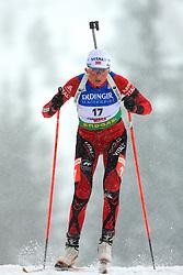 Solveig Rogstad (NOR) at Women 15 km Individual at E.ON Ruhrgas IBU World Cup Biathlon in Hochfilzen (replacement Pokljuka), on December 18, 2008, in Hochfilzen, Austria. (Photo by Vid Ponikvar / Sportida)