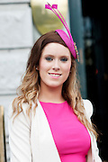 Cliodha Finn, Claremorris, Mayo,  at the Hotel Meyrick Most Stylish Lady event on ladies day of The Galway Races. Photo:Andrew Downes