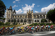 Illustration, Scenery, Les Andelys, during the 105th Tour de France 2018, Stage 8, Dreux - Amiens Metropole (181km) on July 14th, 2018 - Photo Luca Bettini / BettiniPhoto / ProSportsImages / DPPI