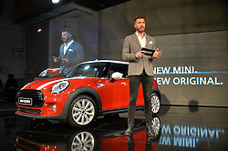 Monday 18th November 2013 saw a host of London hipsters, social faces and celebrities, gather together for the much-anticipated World Premiere of the brand new MINI.<br /> Attendees were among the very first in the world to see and experience the new MINI, exclusively revealed to guests during the party. Taking place in the iconic London venue of the Old Sorting Office, 21-31 New Oxford Street, London guests enjoyed a DJ set from Little Dragon, before enjoying an exciting live performance from British band Fenech-Soler.<br /> Picture Shows:-RICK EDWARDS