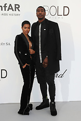 Teyana Taylor and Iman Shumpert arrive at the amfAR Gala Cannes 2018 at Hotel du Cap-Eden-Roc on May 17, 2018 in Cap d'Antibes, France. Photo by Shootpix/ABACAPRESS.COM