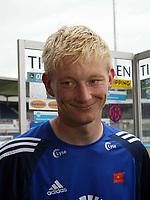 Fotball, 03. juli 2005, Tippeligaen, Aalesund - Viking 1-2,Vikings Nye spiller Allan Gaarde scoret vikings vinner mål med sitt første touch,<br /> Foto: Richard Brevik, Digitalsport