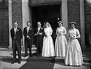 10/05/1958<br /> 05/10/1958<br /> 10 May 1958<br /> <br /> Wedding - Linehan/Farrell at St Vincent de Paul Church, Marino