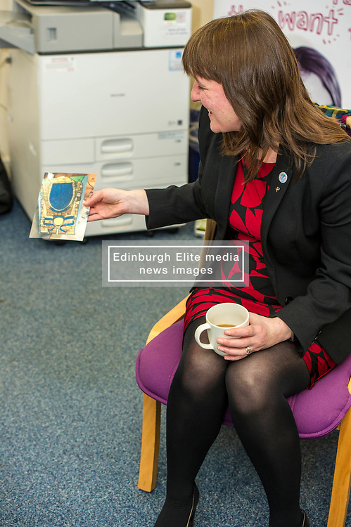 Pictured: Maree Todd<br /> Childcare and early years minister Maree Todd MSP confirmed the total number of boxes  durimg a visit to The Space Unit in Edinburgh today.  Ms Todd also announced that family nurses can now register mothers to receive their box. At close of play on Tuesday 6 March a total of 30,068 boxes will have been delivered.<br /> <br /> <br /> Ger Harley   EEm Date