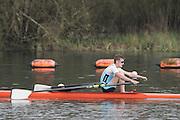 Caversham. Berkshire. UK<br /> Gavin HORSBOROUGH.<br /> 2016 GBRowing U23 Trials at the GBRowing Training base near Reading, Berkshire.<br /> <br /> Monday  11/04/2016 <br /> <br /> [Mandatory Credit; Peter SPURRIER/Intersport-images]