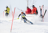 Lafoley Spring slalom with Gunstock Ski Club.  Karen Bobotas Photographer