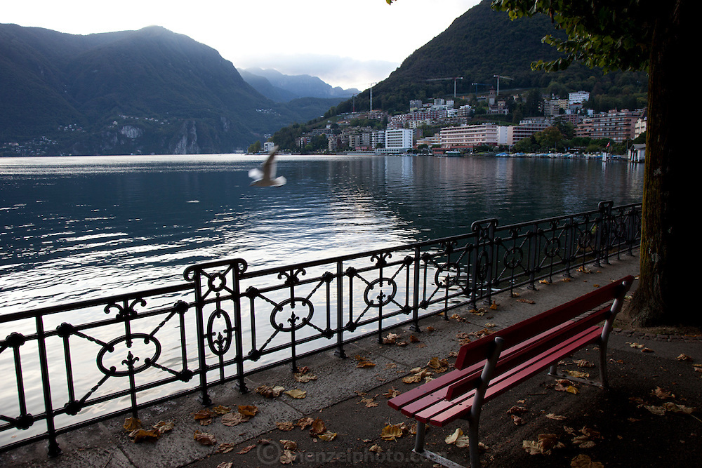 """Lugano, Switzerland on Lake Lugano. """"Lugano is a city in the south of Switzerland, in the Italian-speaking canton of Ticino, which borders Italy. The population of the city proper was 55,151 as of December 2011, and the population of the urban agglomeration was over 145,000. Wikipedia"""""""