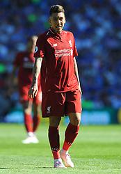 Roberto Firmino of Liverpool- Mandatory by-line: Nizaam Jones/JMP - 21/04/2019 -  FOOTBALL - Cardiff City Stadium - Cardiff, Wales -  Cardiff City v Liverpool - Premier League