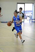 DESCRIZIONE : Roma Acqua Acetosa amichevole Nazionale Italia Donne<br /> GIOCATORE : Marie Raelin D'Alie<br /> CATEGORIA : palleggio<br /> SQUADRA : Nazionale Italia femminile donne FIP<br /> EVENTO : amichevole Italia<br /> GARA : Italia Lazio Basket<br /> DATA : 27/03/2012<br /> SPORT : Pallacanestro<br /> AUTORE : Agenzia Ciamillo-Castoria/GiulioCiamillo<br /> Galleria : Fip Nazionali 2012<br /> Fotonotizia : Roma Acqua Acetosa amichevole Nazionale Italia Donne