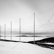 SuperDARN Antenna, Arrival Heights, McMurdo Station