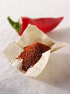 Ground & fresh chilli