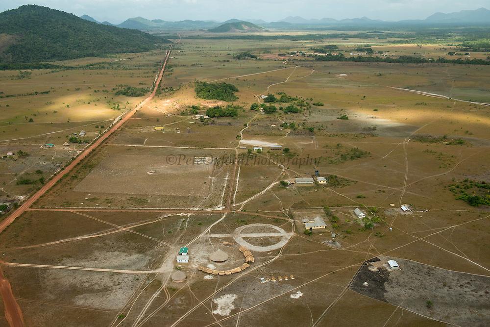 Bina Hill Village<br /> Savanna <br /> Rupununi<br /> GUYANA<br /> South America
