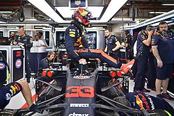 September 14, 2018 - Singapore, Singapore - Motorsports: FIA Formula One World Championship 2018, Grand Prix of Singapore, .#33 Max Verstappen (NLD, Aston Martin Red Bull Racing) (Credit Image: © Hoch Zwei via ZUMA Wire)