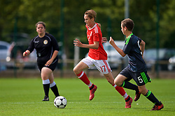 NEWPORT, WALES - Wednesday, July 25, 2018: Zak Williams during the Welsh Football Trust Cymru Cup 2018 at Dragon Park. (Pic by Paul Greenwood/Propaganda)