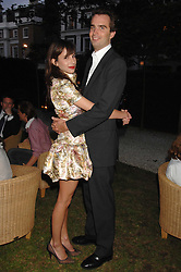 FRITZ VON WESTENHOLZ and CAROLINE SIEBER at a party to celebrate Le Touessrok a luxury resort in Mauritius, held at The Hempel, 31-35 Craven Hill Gardens, London W2 on 12th June 2007.<br />