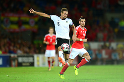 Stefan Llsanker of Austria - Mandatory by-line: Dougie Allward/JMP - 02/09/2017 - FOOTBALL - Cardiff City Stadium - Cardiff, Wales - Wales v Austria - FIFA World Cup Qualifier 2018