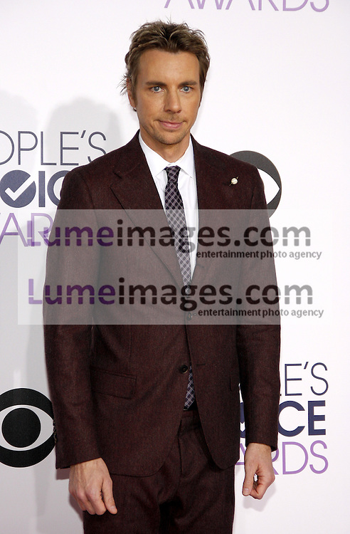 Dax Shepard at the 41st Annual People's Choice Awards held at the Nokia L.A. Live Theatre in Los Angeles on January 7, 2015. Credit: Lumeimages.com