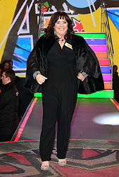 Coleen Nolan enters the Celebrity Big Brother house at Elstree Studios in Borehamwood, Herfordshire, during the latest series of the Channel 5 reality TV programme.