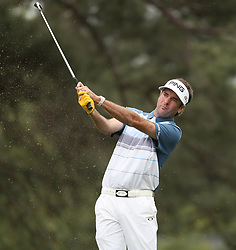 April 7, 2018 - Augusta, GA, USA - Bubba Watson hits from the 1st fairway during the third round of the Masters Tournament on Saturday, April 7, 2018, at Augusta National Golf Club in Augusta, Ga. (Credit Image: © Jason Getz/TNS via ZUMA Wire)