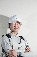 The 2015 Laser Women's Radial World Championship. Mussanah. Oman. November 18-26 November. Day 4 of racing - Lijia Xu (CHN)<br /> Image licensed to Lloyd Images