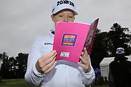 Stephanie Meadow (NIR) at the Golf4Girls4Life festival at the ISPS Handa World Invitational, Galgorm Castle Golf Club, Ballymena, Antrim, Northern Ireland. 14/08/2019.<br /> Picture Fran Caffrey / Golffile.ie<br /> <br /> All photo usage must carry mandatory copyright credit (© Golffile   Fran Caffrey)