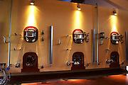 Concrete fermentation tanks in the winery Bodega Bouza Winery, Canelones, Montevideo, Uruguay, South America