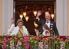 Oslo: King Harald & Queen Sonja's 80th Birthday celebrations - 9 May 2017