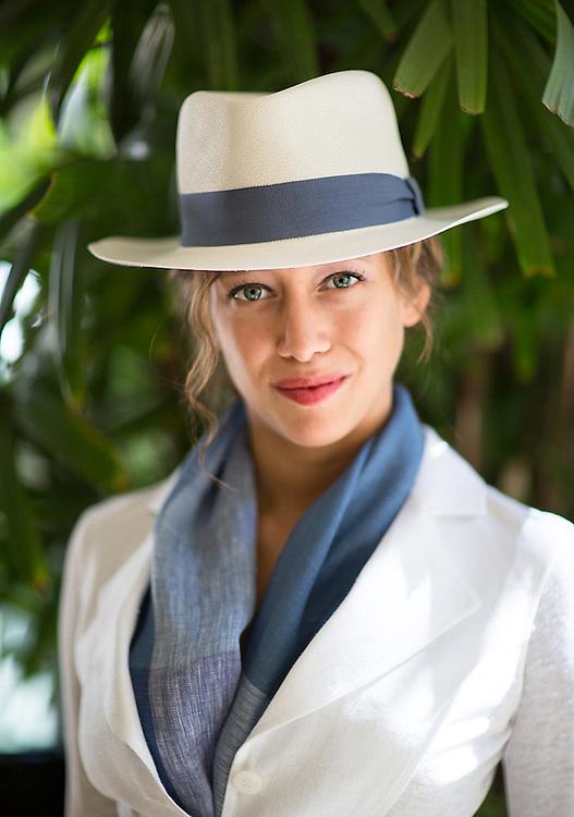Model: Alyssa Aparicio, Clothes: 100% Capri Beverly hills.