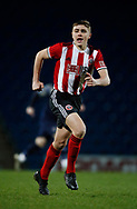 Harrison Neal of Sheffield Utd during the Professional Development League  match at the Proact Stadium, Chesterfield. Picture date: 3rd February 2020. Picture credit should read: Simon Bellis/Sportimage