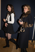 SCARLETT CAUDWELL-BURGESS, JANE BURGESS, The George Michael Collection drinks.  Christie's, King St. London, 12 March 2019