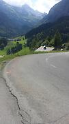Thursday 21st August 2014: Landscape on the climb of the Col de Colombiere.