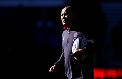 England head coach Eddie Jones during an open training session at Twickenham - Mandatory by-line: Robbie Stephenson/JMP - 16/02/2018 - RUGBY - Twickenham Stadium - London, England - England Rugby Open Training Session