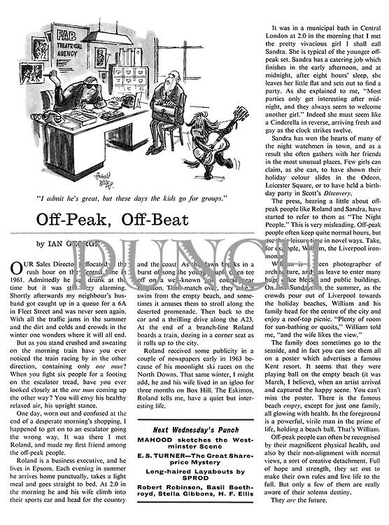 Off-Peak, Off-Beat