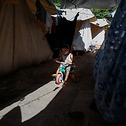 Ritsona Refugee Camp, Greece, July 2016.