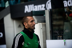 October 20, 2018 - Turin, Piedmont, Italy - Giorgio Chiellini of Juventus during the Serie A match between Juventus and Genoa at the Allianz Stadium, the final score was 1-1 in Turin, Italy on 20 October 2018. (Credit Image: © Alberto Gandolfo/Pacific Press via ZUMA Wire)