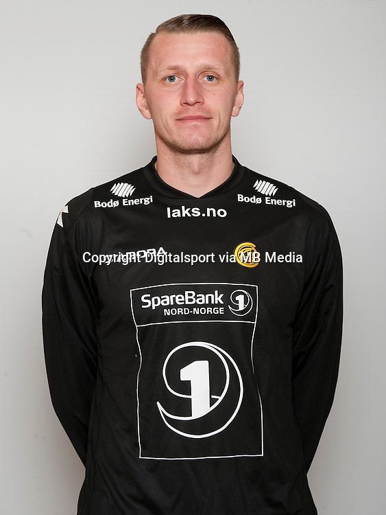 Fotball , Tippeligaen 2014 , Elitesereien , portrett , portretter , Bodø/Glimt , Pavel Londak<br /> Foto Astrid M. Nordhaug