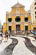 St. Dominic's Church Senado Square Macau.