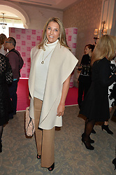 CLAUDINE COLLINS Managing Director, MediaCom UK at the Future Dreams 'United For Her' Ladies Lunch 2016 held at The Savoy, London on 10th October 2016.