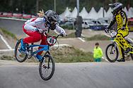 #49 (TUCHSCHERER Daina) CAN at Round 6 of the 2018 UCI BMX Superscross World Cup in Zolder, Belgium