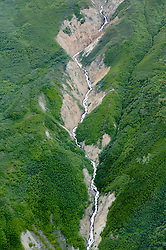 Aerial Scenic With Runoff