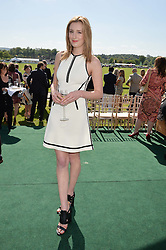 LAURA CARMICHAEL at the St.Regis International Polo Cup at Cowdray Park, Midhurst, West Sussex on 16th May 2015.