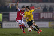 Middlesbrough midfielder Adam Forshaw (34)  during the Sky Bet Championship match between Rotherham United and Middlesbrough at the New York Stadium, Rotherham, England on 8 March 2016. Photo by Simon Davies.