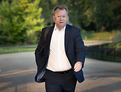 © Licensed to London News Pictures. 14/09/2020. London, UK. UK Chief Brexit negotiator Lord Frost walks through St James's Park to Downing Street. Later MPs will vote on the Government's controversial Internal Market Bill which may break international law. Photo credit: Peter Macdiarmid/LNP