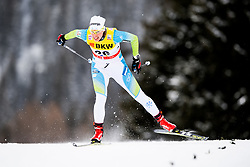 December 9, 2017 - Davos, SWITZERLAND - 171209 Vesna Fabjan of Slovenia competes in the prologue of women's sprint free technique during FIS Cross-Country World Cup on December 9, 2017 in Davos..Photo: Jon Olav Nesvold / BILDBYRN / kod JE / 160097 (Credit Image: © Jon Olav Nesvold/Bildbyran via ZUMA Wire)