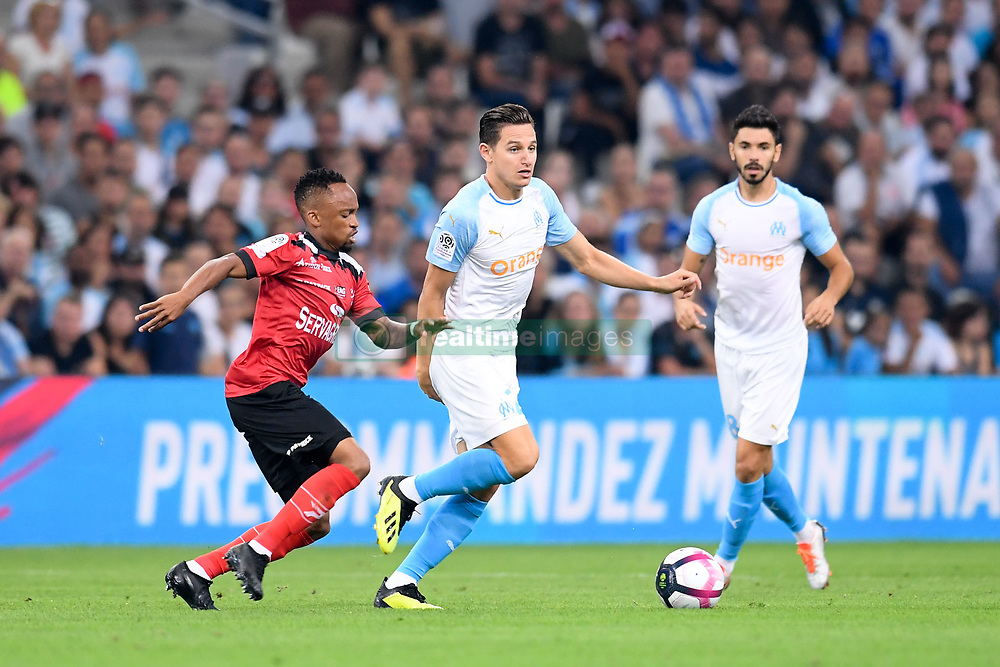 September 16, 2018 - Marseille, France - 26 FLORIAN THAUVIN (OM) - 06 LEBOGANG PHIRI  (Credit Image: © Panoramic via ZUMA Press)
