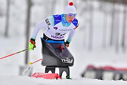 ESKAU Andrea, GER, LW11 at the 2018 ParaNordic World Cup Vuokatti in Finland