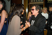 BEVERLEY KNIGHT AND ROBERT CAVALLI, The Launch of the Cavalli Selection. 17 Berkeley St. London. 29 May 2008.   *** Local Caption *** -DO NOT ARCHIVE-© Copyright Photograph by Dafydd Jones. 248 Clapham Rd. London SW9 0PZ. Tel 0207 820 0771. www.dafjones.com.